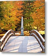 Old North Bridge Concord Metal Print by Brian Jannsen