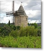 Old Windmill Metal Print