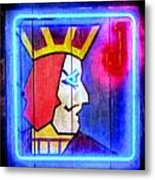 One Eyed Jacks Metal Print