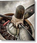 P-17 Prop Metal Print