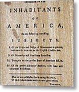 Paine: Common Sense, 1776 Metal Print by Granger