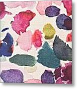 Paint Stains Metal Print