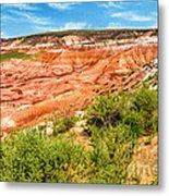 Painted Desert National Park Panorama Metal Print