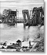 Panama Canal French Work Metal Print