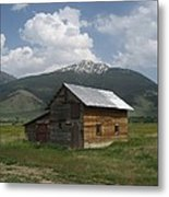 Paradise Valley Montana Metal Print