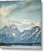 Partly Cloudy Metal Print