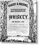 Patent Medicine Poster Metal Print