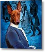 Pharaoh Hound Art Canvas Print Metal Print