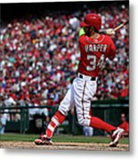 Philadelphia Phillies V Washington 2 Metal Print
