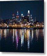Philadelphia Reflections Metal Print