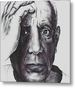 Picasso Metal Print by Guillaume Bruno