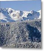 Pikes Peak Snow Metal Print