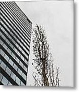 Plastic Trees Metal Print
