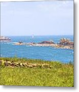 Pointe Du Grouin - Brittany Metal Print
