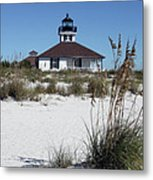 Port Boca Grande Lighthouse Metal Print