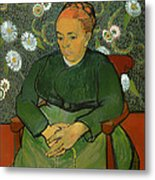 Portrait Of Madame Roulin Metal Print