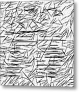 Postmodern Abstraction Metal Print