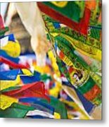Prayer Flags Metal Print