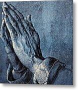 Praying Hands Metal Print