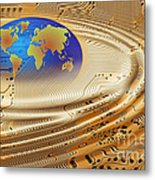 Printed Circuit Metal Print