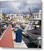 Puerto Banus Marina Metal Print