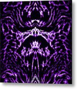 Purple Series 1 Metal Print