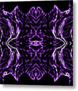 Purple Series 7 Metal Print