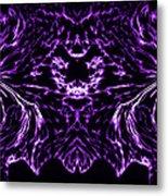 Purple Series 8 Metal Print