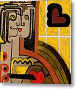 Queen Of Hearts Of Egypt Metal Print