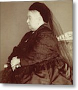 Queen Victoria Of England (1819-1901) Metal Print