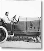 Race Car, 1914 Metal Print