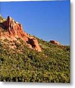 Red Rock Formation Sedona Arizona 27 Metal Print