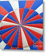 Red White And Balloon  Metal Print