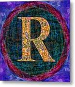 Registered Trademark Symbol Metal Print