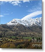 Remarkables Mountains Metal Print