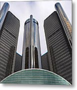 Renaissance Center Metal Print