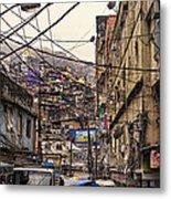 Rio De Janeiro Brazil - Favela Metal Print