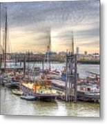 River Thames Boat Community Metal Print