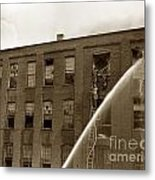Rochester Show Case Co. Fire New York State Circa 1904 Metal Print