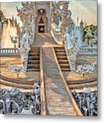 Rong Khun Temple Metal Print by Adrian Evans