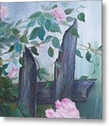 Roses Metal Print by Glenda Barrett