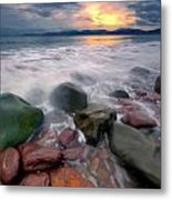 Rossbeigh Beach Metal Print