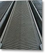 Rubber Industrial Conveyer Metal Print