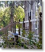 Rustic Country Front Porch Metal Print