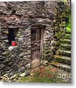 Rustic House Metal Print