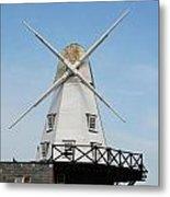 Rye Windmill Metal Print