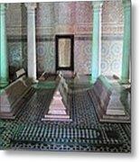 Saadian Tombs 2 Metal Print