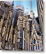 Sagrada Familia - Gaudi Metal Print