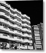 Salou Waterfront Properties On The Costa Dorada Catalonia Spain Metal Print