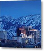 Salt Lake City Metal Print
